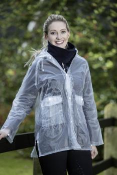 REGENJACKE TRANSPARENT